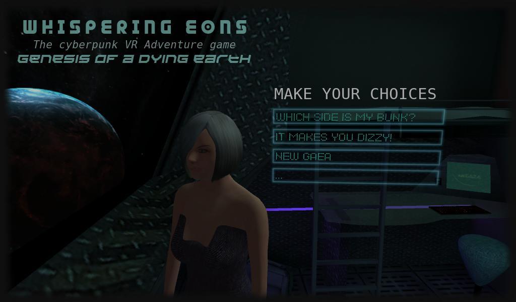 Whispering Eons #0 (VR Cardboard adventure game) 5 تصوير الشاشة