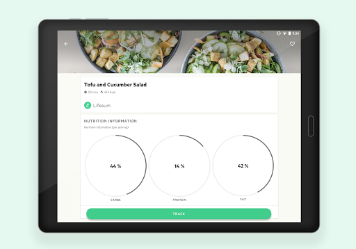 Lifesum - Diet Plan, Macro Calculator & Food Diary screenshot 11