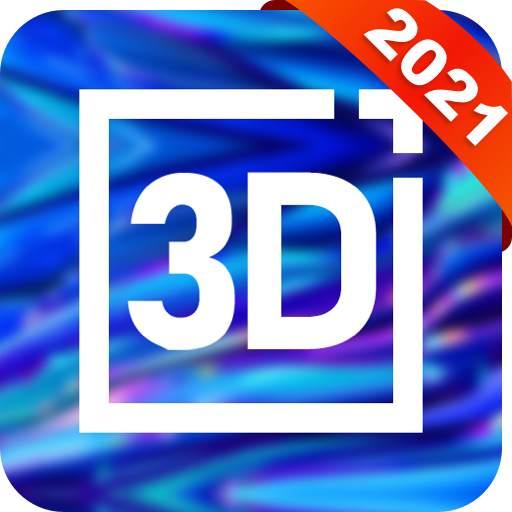 3D Live wallpaper - 4K&HD, 2021 best 3D wallpaper