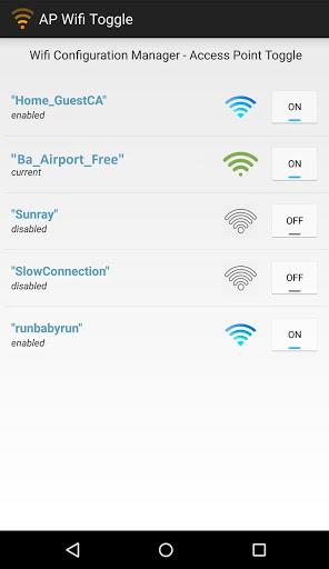 Wi-Fi Networks screenshot 1