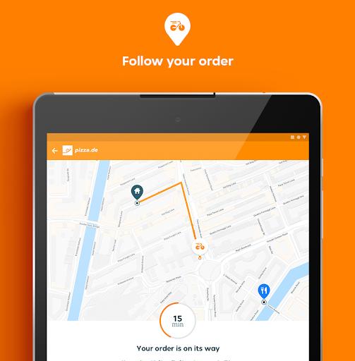 pizza.de | Food Delivery screenshot 10