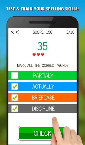 Spelling Games 6 in 1 - Free screenshot 4