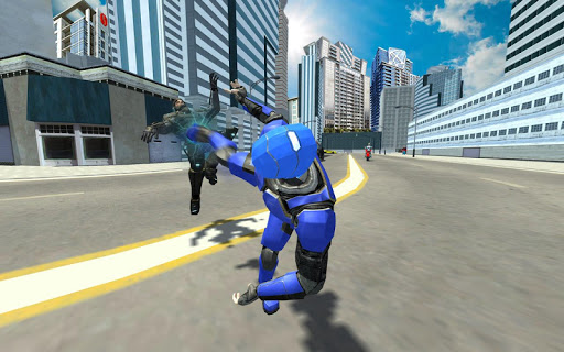 Super Light Speed Robot Superhero: Speed Hero 5 تصوير الشاشة