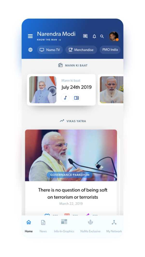 Narendra Modi - Latest News, Videos and Speeches screenshot 2
