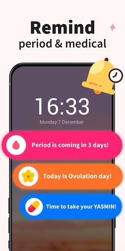 Period Tracker - Period Calendar Ovulation Tracker screenshot 4