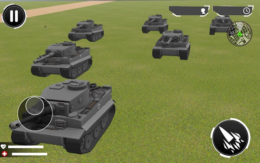 Tanks World War 2: RPG Survival Game screenshot 1