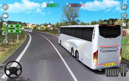 Real Bus Parking: Driving Games 2020 screenshot 1