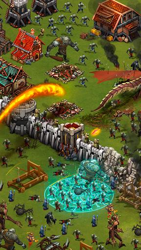 Throne Rush 2 تصوير الشاشة