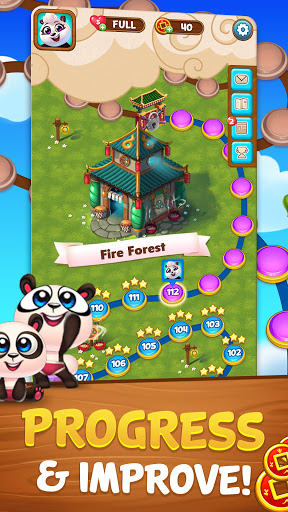 Bubble Shooter: Panda Pop! 6 تصوير الشاشة