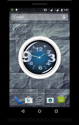 Metal Clock Live Wallpaper 2 تصوير الشاشة