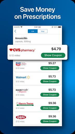 WebMD: Check Symptoms, Rx Savings, & Find Doctors screenshot 3