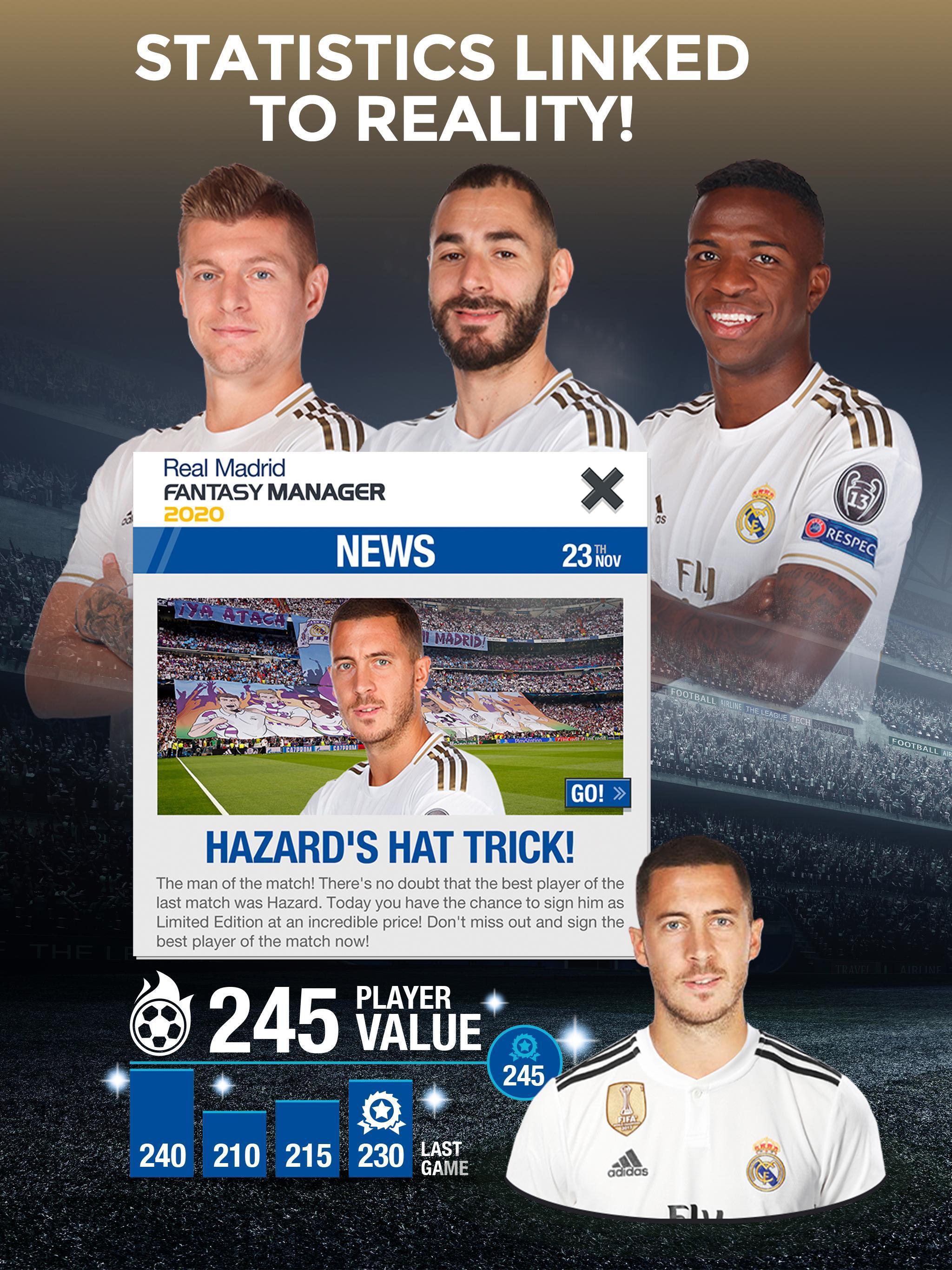 Real Madrid Fantasy Manager'20 Real football live 8 تصوير الشاشة