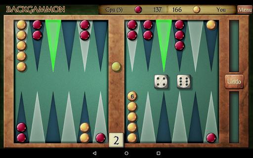 Backgammon Free 23 تصوير الشاشة