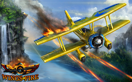Wings on Fire - Endless Flight screenshot 1