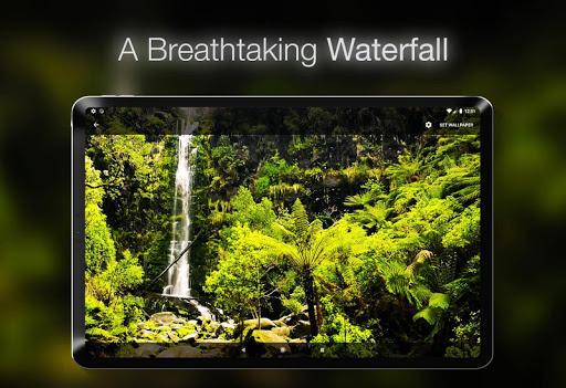 خلفية شلال متحركة 4 تصوير الشاشة