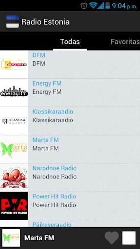 Estonia Radio screenshot 3