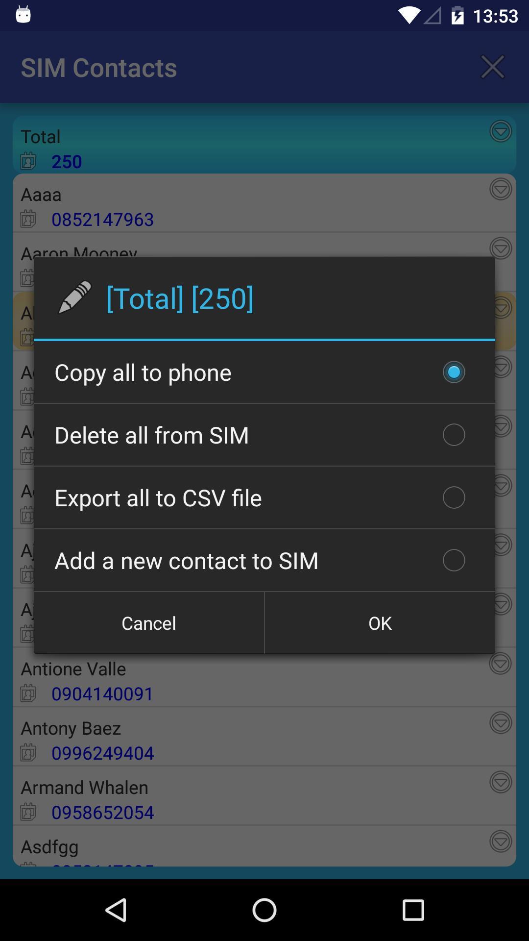 SIM + screenshot 3