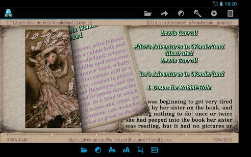 AlReader -any text book reader screenshot 9