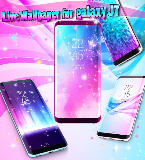 Live wallpaper for Galaxy J7 1 تصوير الشاشة