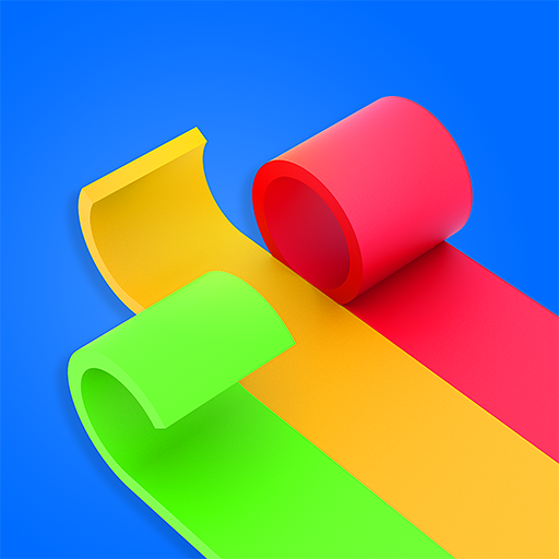 Color Roll 3D icon