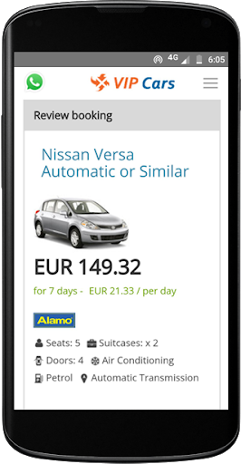 VIPCars.com – Car Rental screenshot 6