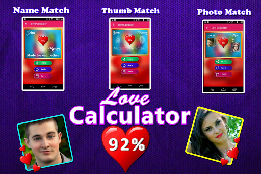 Love Test Calculator Prank 9 تصوير الشاشة