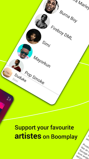 Boomplay:Stream & Download Trending Music for Free 4 تصوير الشاشة
