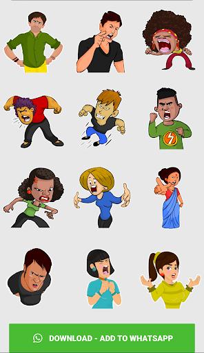 Stickers For WhatsApp ( WAStickerApps ) screenshot 7