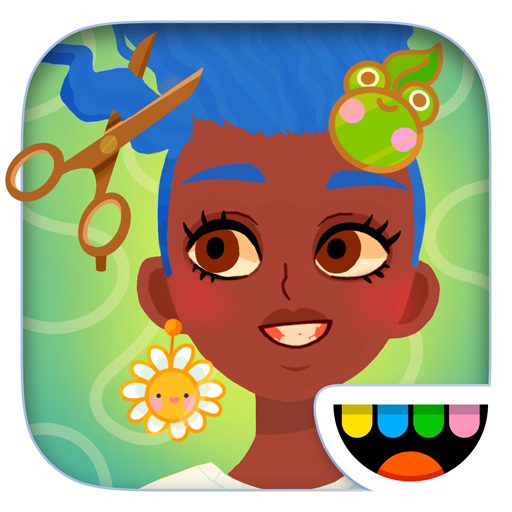 Toca Hair Salon 4 أيقونة