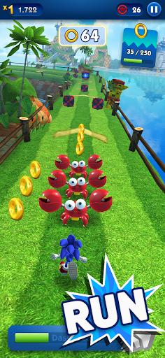 Sonic Dash - Endless Running & Racing Game स्क्रीनशॉट 1