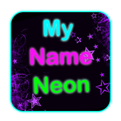 My Name Neon icon