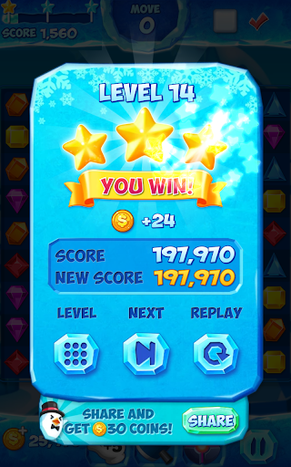 Jewel Pop Mania:Match 3 Puzzle 5 تصوير الشاشة