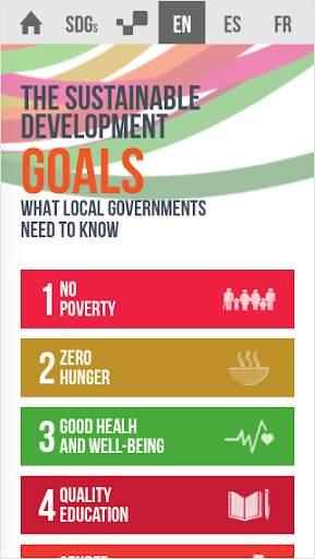 Sustainable Development Goals screenshot 1