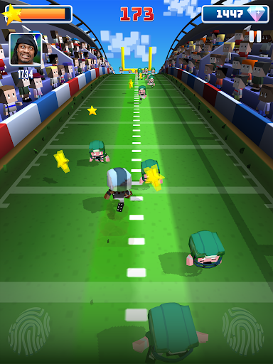 Marshawn Lynch Blocky Football screenshot 19