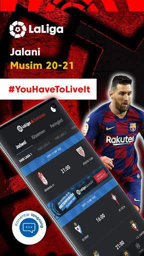 La Liga - Sepak bola dan Hasil Pertandingan screenshot 3