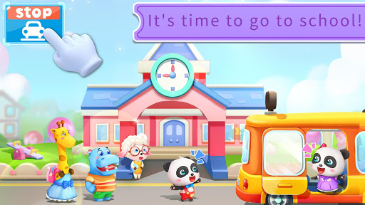 Baby Panda's School Bus - Let's Drive! screenshot 3
