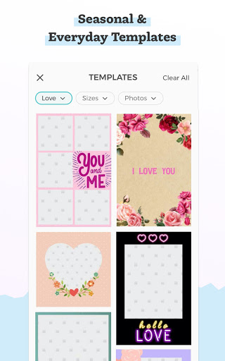 PicCollage - Grid, Greeting & Photo Collage Maker screenshot 4