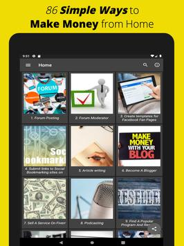 Make Money Online: Free Work from Home Ideas App screenshot 6
