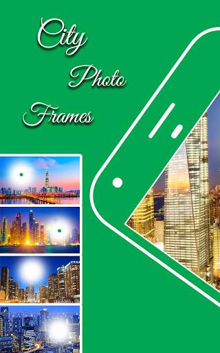 City photo editor: photo frame screenshot 1