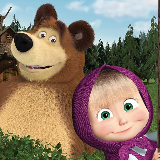 Masha and the Bear. Educational Games icon