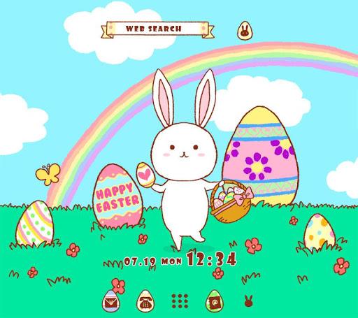 خلفيات وأيقونات Easter Bunny 1 تصوير الشاشة
