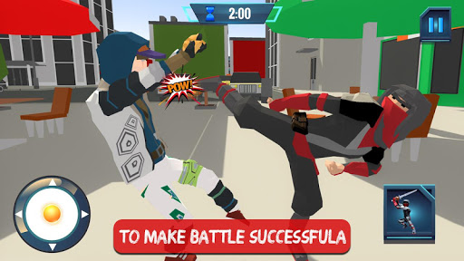 Ninja Rope Hero Crime City Mafia: Superhero Games screenshot 2