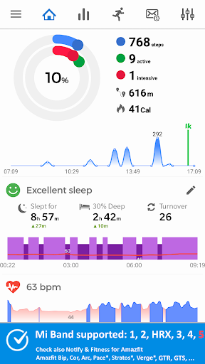 Notify for Mi Band: Your privacy first screenshot 1