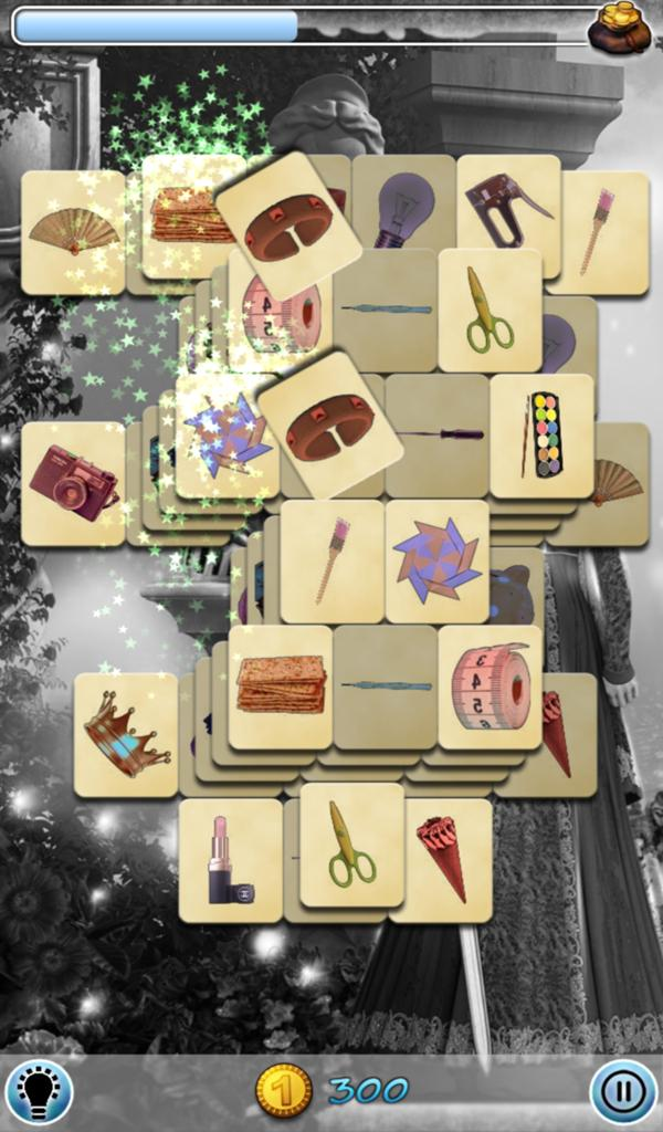 Hidden Mahjong: Witch screenshot 2