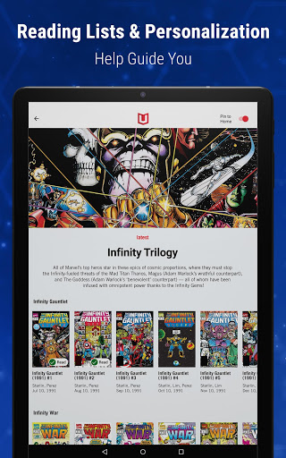 Marvel Unlimited 21 تصوير الشاشة