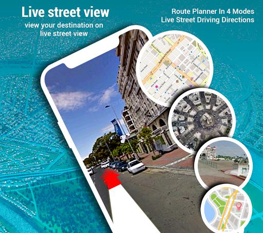 Street View - Panorama 3D Live camera Speedometer screenshot 3