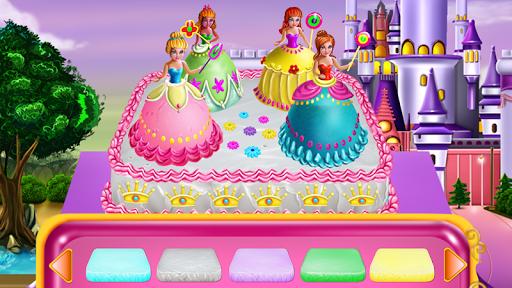 Princesses Cake Cooking 3 تصوير الشاشة