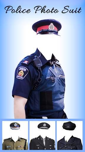 Men Police suit Photo Editor - Police Dresses screenshot 4