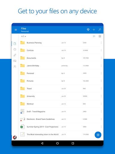 Microsoft OneDrive screenshot 8