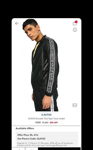 Koovs Online Shopping App скриншот 4